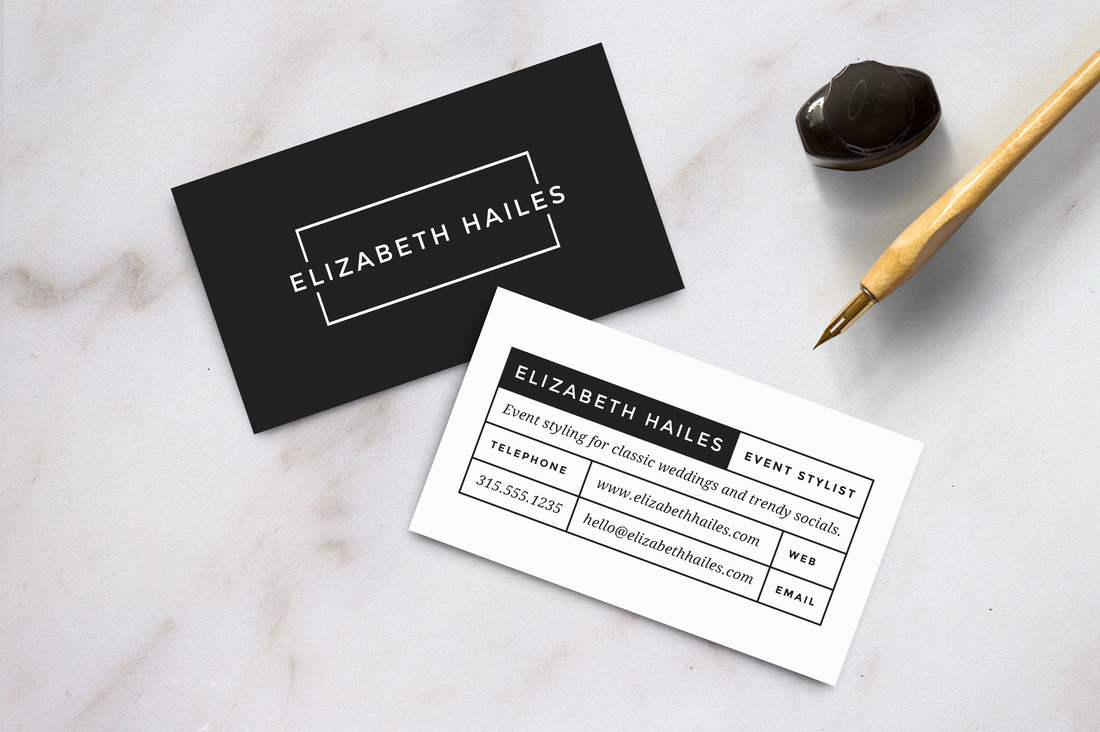 Personal Business Cards - has#tag Sarah